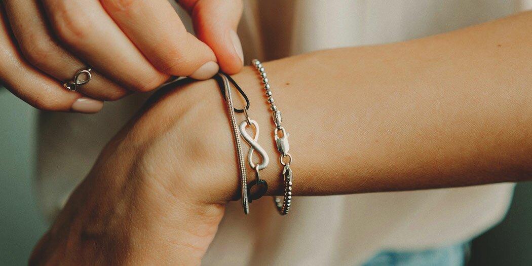 Серебряные браслеты (выбрать)
