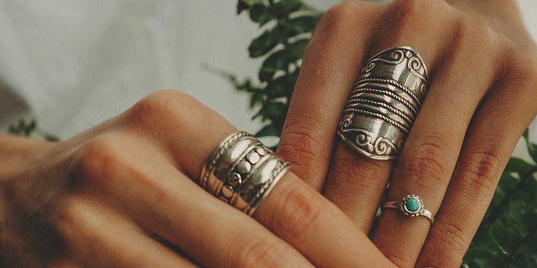 Серебряные кольца (выбрать)