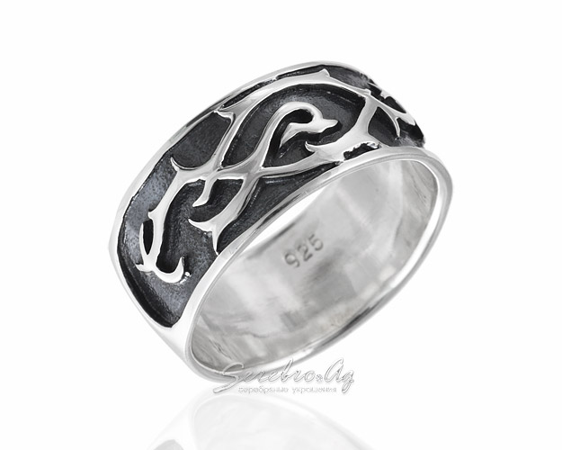 Широкое кольцо с кельтским орнаментом deb5188c77367