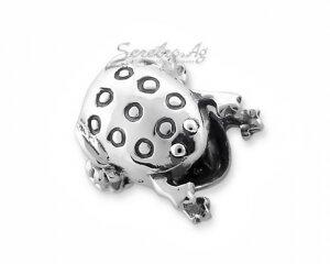 Подвеска лягушка - шармик из серебра 925-й пробы